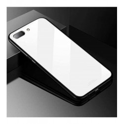 Oppo A3S Glass Case White