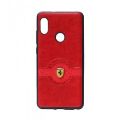 Xiaomi Mi A2/6X Red Leather Back Case