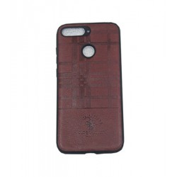 Huawei Y6 Prime Santa Barbara Leather Case BROWN