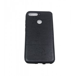 Huawei Y5 2018 Black Santa Barbara Leather Case