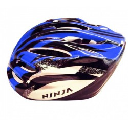 Cycling Helmet blue and black