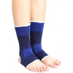 Ankle Compression for Sports and Injury Recovery Ankle Support Ankle Support (Blue)