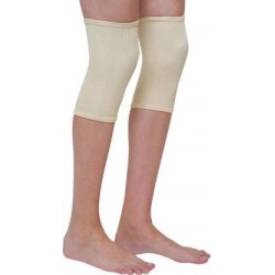 knee Pain Injury Protector Knee Support Knee Sleeves Weightlifting, Gym Knee Support (Beige)