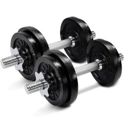 Adjustable Dumbbell Set 17 kg