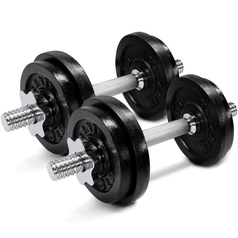 Adjustable Dumbbell Set 17 kg