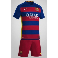 Barcelona Jersey With Half Pants