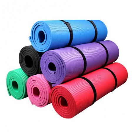 Eco Friendly Yoga Mat 10mm (2'x6')
