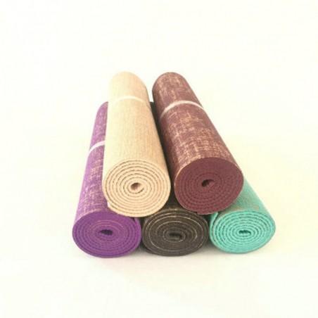 Organic Jute Natural Jute PVC Yoga Mat Nature Yoga Mat