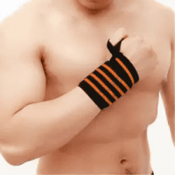 Lifting Sports Wristband Wrist Thumb Support Straps Wraps Hand Bands Strap