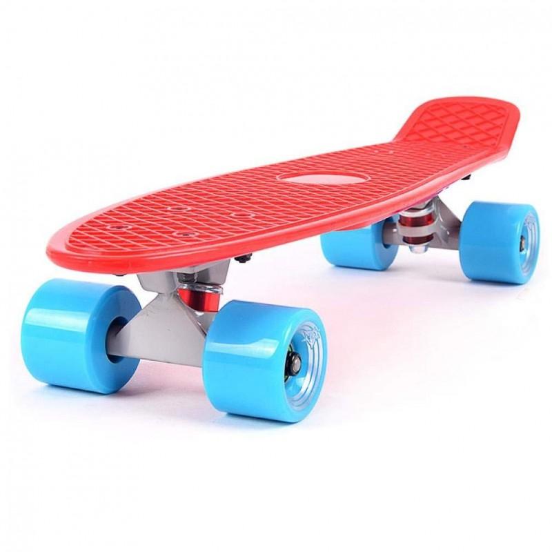 22'' Skateboard Retro Complete Deck Cruiser Skater Skating Board