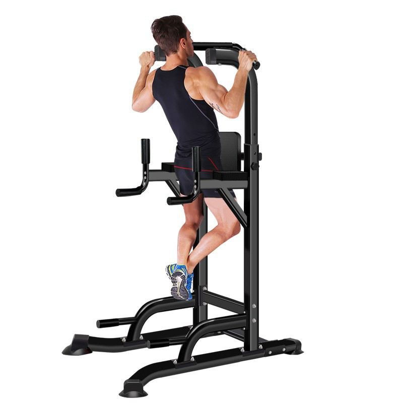 Chin Up and dip Station Power Tower Home use Exercise