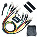 11 pcs/set Pull Rope Fitness Exercises Resistance Bands