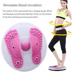 Waist Twister, Aerobic Exercise Foot Exercise Fitness Twister Figure Trimmer Magnet Balance Rotating Board