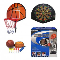 Basket Ball set with dart board