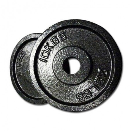 Olympic hole  2.5kg, 5kg, 10kg, 15kg, 20 kg Black color Solid Iron Dumbbell Plates