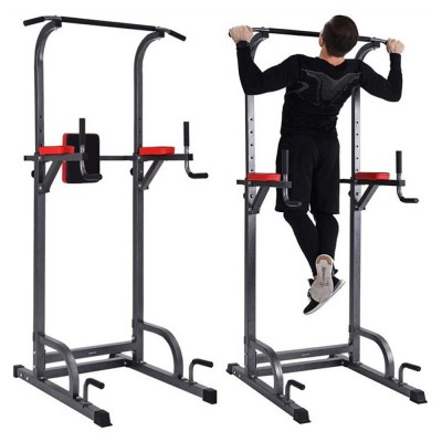 Chin up and dip Station ab tower full body workout power tower