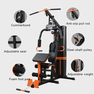 BunnyHi JSJ034 Fitness Home Gym Equipment Multi Function Station Machine